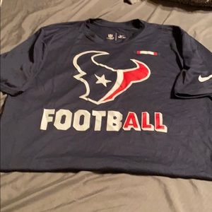 Men's medium Houston Texans shirt